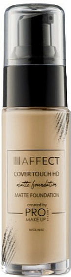 Matte Foundation - Affect Cosmetics Cover Touch Matte Foundation