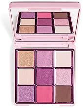 Fragrances, Perfumes, Cosmetics Eyeshadow Palette, 9 Shades - I Heart Revolution One True Love Glitter Eyeshadow Palette