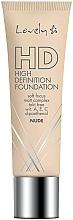 Fragrances, Perfumes, Cosmetics Face Foundation Fluid - Lovely HD Fluid
