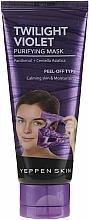 Fragrances, Perfumes, Cosmetics Moisturizing Peel-Off Mask - Yeppen Skin Purifying Mask Twilight Violet Peel-off