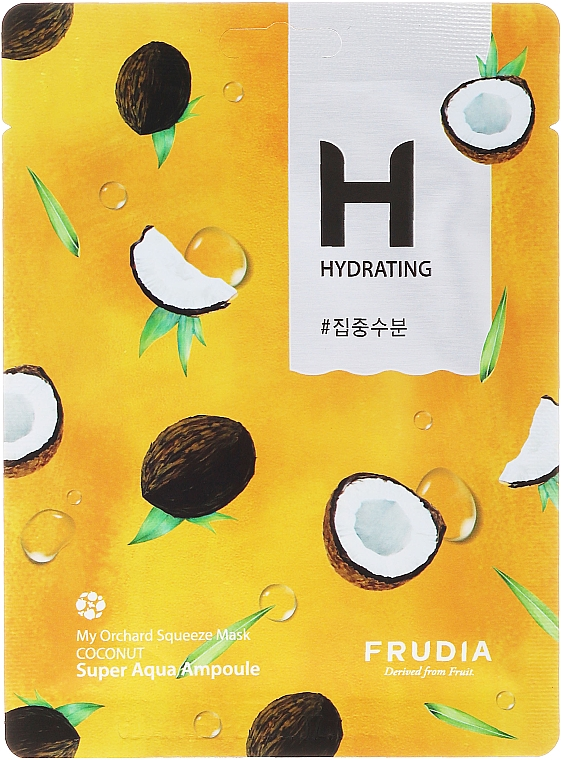 Coconut Face Sheet Mask - Frudia My Orchard Squeeze Mask Coconut