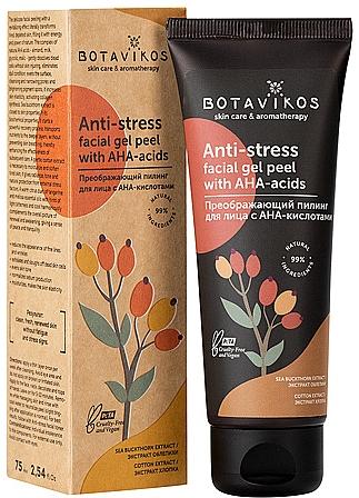 Anti-Stress Facial AHA Gel Peel - Botavikos Skin care & Aromatherapy — photo N1