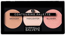 Fragrances, Perfumes, Cosmetics Contour Palette - Gabriella Salvete Contouring Palette