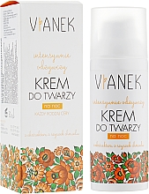 Fragrances, Perfumes, Cosmetics Nourishing Night Face Cream - Vianek Nourishing Night Cream