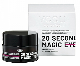 Fragrances, Perfumes, Cosmetics Eye Serum - Veoli Botanica 20 Seconds Magic Eye Treatment