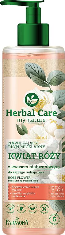 "Moisturizing Micellar Water ""Rose Flower"" - Farmona Herbal Care Micellar Water"