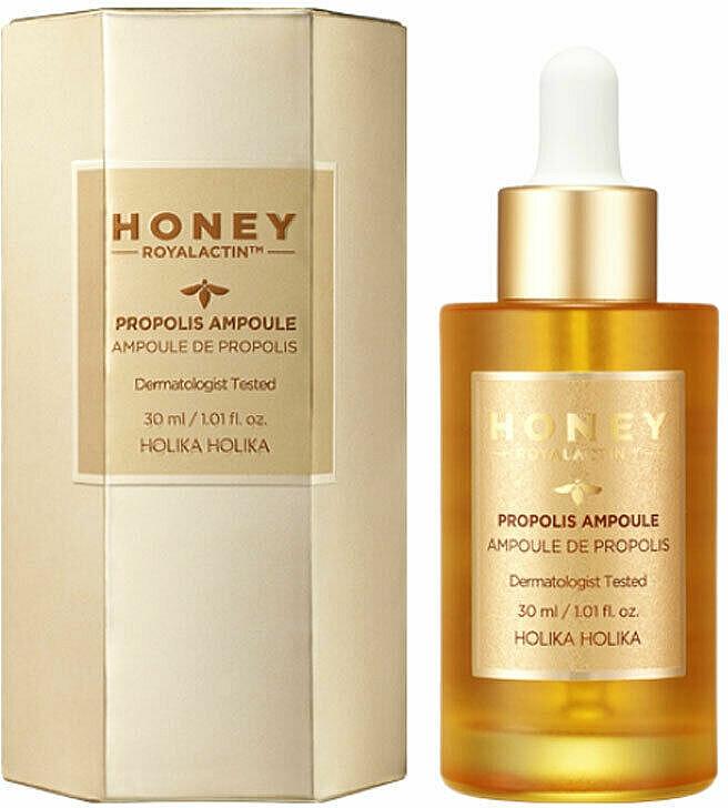 Lifting Propolis Ampoule - Holika Holika Honey Royal Lactin Propolis Ampoule Special Edition — photo N1