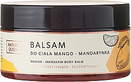 "Fragrances, Perfumes, Cosmetics Body Balm ""Mango and Orange"" - Nature Queen Body Balm"