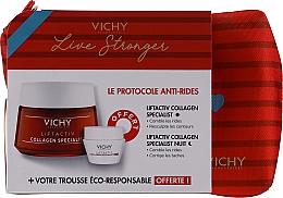 Fragrances, Perfumes, Cosmetics Set - Vichy LiftActiv Le Protocole Anti-Rides (d/cr/50ml + n/cr/15m + bag/pcs)
