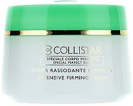 Fragrances, Perfumes, Cosmetics Intensive Firming Body Cream - Collistar Crema Rassodante Intensiva