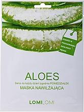 Fragrances, Perfumes, Cosmetics Facial Mask with Aloe - LomiLomi Mask Aloe