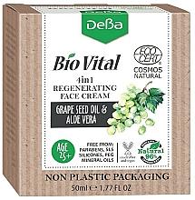 Fragrances, Perfumes, Cosmetics 4-in-1 Regenerating Face Cream - DeBa Bio Vital Regenerating Face Cream 4in1