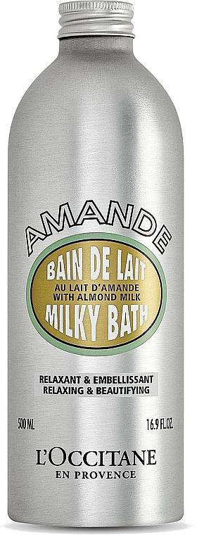 Bath Foam - L'Occitane Almond Milk Bath — photo N1