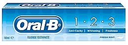 Fragrances, Perfumes, Cosmetics Toothpaste - Oral B 1-2-3 Fresh Mint Toothpaste