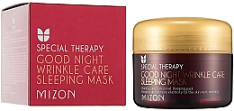 Fragrances, Perfumes, Cosmetics Nourishing Anti-Wrinkle Retinol Night Mask - Mizon Good Night Wrinkle Care Sleeping Mask