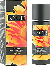 Fragrances, Perfumes, Cosmetics Day Cream with Hyaluronic Acid & Argan Oil - Ryor Day Cream With Hyaluronic Acid And Argan Oil