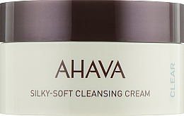 Fragrances, Perfumes, Cosmetics Silky-Soft Cleansing Face Cream - Ahava Time to Clear Ahava Silky Soft Cleansing Cream