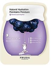 Fragrances, Perfumes, Cosmetics Moisturizing Face Sheet Mask - Frudia Hydrating Blueberry Mask