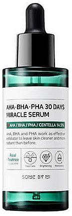 Acidic Serum for Problem Skin - Some By Mi AHA BHA PHA 30 Days Miracle Serum