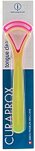 Fragrances, Perfumes, Cosmetics Tongue Cleaner Set CTC 203, yellow + pink - Curaprox Tongue Cleaner