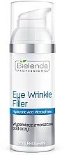 Fragrances, Perfumes, Cosmetics Eye Wrinkle Filler - Bielenda Professional Program Eye Wrinkle Filler