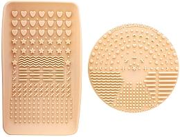 Fragrances, Perfumes, Cosmetics Brush Cleaner - Nanshy Makeup Brush Cleaning Pad & Palette