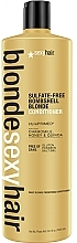 Fragrances, Perfumes, Cosmetics Blonde Hair Conditioner - SexyHair BombshellSexyHair Blonde Hair Conditioner