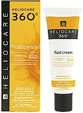 Fragrances, Perfumes, Cosmetics Sunscreen Fluid Cream for All Types of Skin - Cantabria Labs Heliocare 360º Fluid Cream SPF 50+ Sunscreen