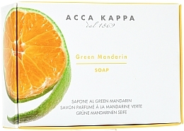 Fragrances, Perfumes, Cosmetics Toilet Soap - Acca Kappa Green Mandarin Toilet Soap