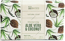 Fragrances, Perfumes, Cosmetics Soap - IDC Institute Moisturizing Hand Natural Soap Aloe Vera & Coconut