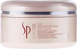 Fragrances, Perfumes, Cosmetics Keratin Repair Hair Mask - Wella SP Luxe Oil Keratin Restore Mask