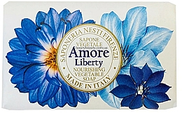 Fragrances, Perfumes, Cosmetics Bergamot, Vetiver and Sea Lily Scented Soap - Nesti Dante Amore Liberty Nourishing Vegetable Soap