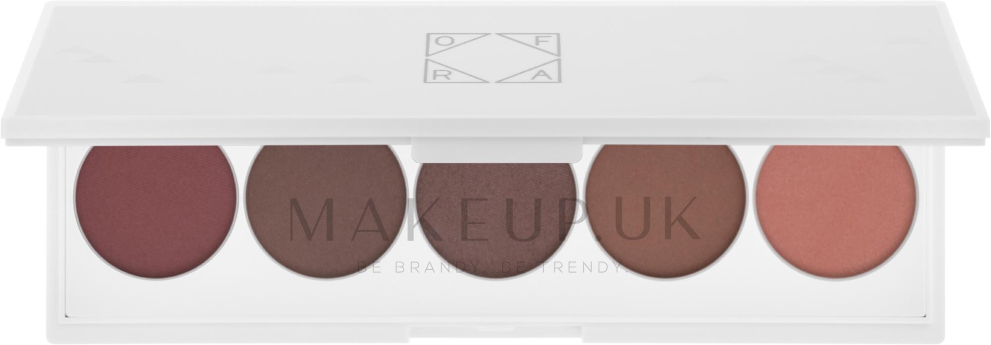 Eyeshadow Palette - Ofra Signature Palette Contour Eyes — photo 10 g