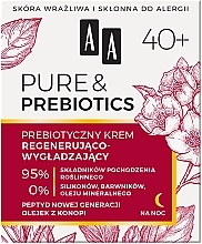 Fragrances, Perfumes, Cosmetics Night Face Cream 40+ - AA Pure & Prebiotics