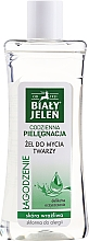 Fragrances, Perfumes, Cosmetics Face Wash Gel - Bialy Jelen Cleansing Gel