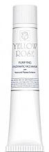 Fragrances, Perfumes, Cosmetics Yeast Face Mask (tube) - Yellow Rose Purifying Enzymatic Face Mask