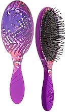 Fragrances, Perfumes, Cosmetics Hair Brush - Wet Brush Pro Detangler Neon Summer Tropics Purple