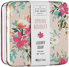 Fragrances, Perfumes, Cosmetics Spring Bouquet Soap - Scottish Fine Spring Bouquet Soap in a Tin
