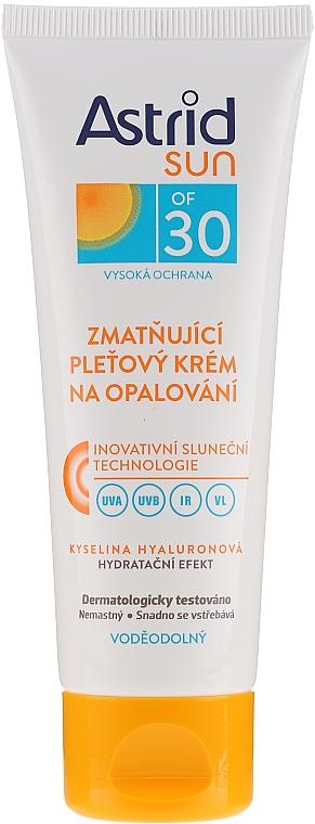 Sun Moisturizing Face Cream SPF30 - Astrid Sun Moisturizing Face Cream SPF30