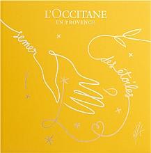 Fragrances, Perfumes, Cosmetics L'Occitane Rose - Set (edt/50ml + sh/g/75ml + b/lot/75ml)