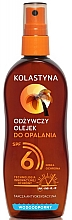 Fragrances, Perfumes, Cosmetics Waterproof Tan Oil Spray - Kolastyna SPF6