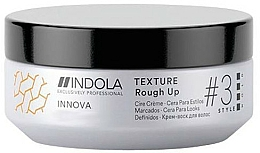 Fragrances, Perfumes, Cosmetics Texture Hair Cream Wax - Indola Innova Texture Rough Up
