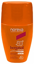 Fragrances, Perfumes, Cosmetics Waterproof Invisible Body Sun Cream - Noreva Laboratoires Bergasol Expert Cream Invisible Finish Fluid SPF50+