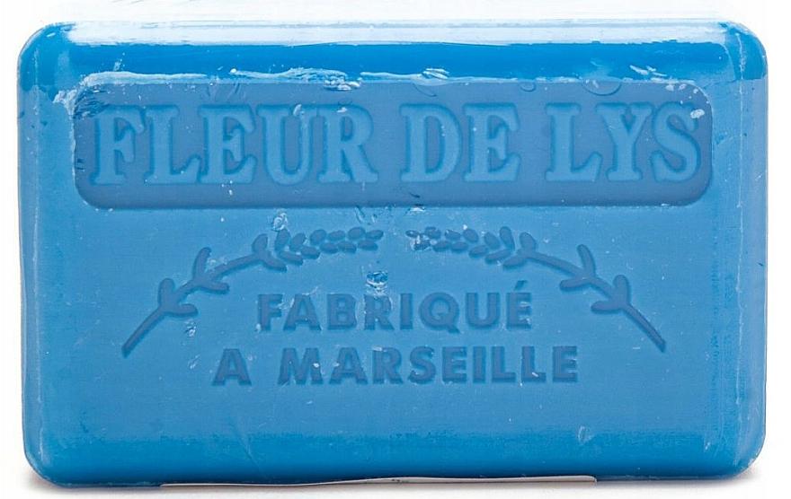 """Marseilles Soap """"Lily"""" - Foufour Savonnette Marseillaise Fleur de Lys"""