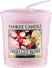 """Fragrances, Perfumes, Cosmetics Scented Candle """"Fresh Cut Roses"""" - Yankee Candle Scented Votive Fresh Cut Roses"""