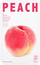 "Fragrances, Perfumes, Cosmetics Moisturizing Facial Sheet Mask ""Peach"" - The Iceland Peach Mask"