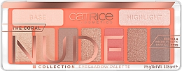 Fragrances, Perfumes, Cosmetics Eyeshadow Palette - Catrice The Coral Nude Collection Eyeshadow Palette