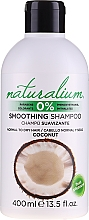 "Fragrances, Perfumes, Cosmetics Hair Shampoo-Conditioner ""Coconut"" - Naturalium Shampoo Coconut Pearled Shampoo With Conditioning Effect"
