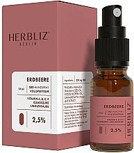 Fragrances, Perfumes, Cosmetics Strawberry Oil Mouth Spray 2,5% - Herbliz CBD Oil Mouth Spray 2,5%