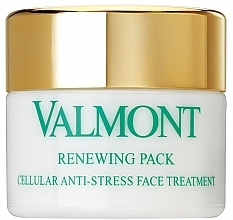 Fragrances, Perfumes, Cosmetics Renewing Anti-Stress Face Mask - Valmont Renewing Pack